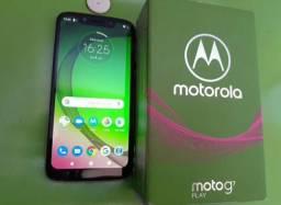 Moto G7 play, 32GB novíssimo (vd ou troca)