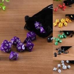 Dungeons And Dragons Rpg Jogo De Dados Com 10pçs