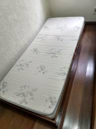 Cama auxiliar + colchão