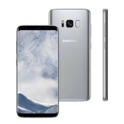 Vendo Galaxy s8 plus zero perfeito estado na parte de cima com plástico ainda