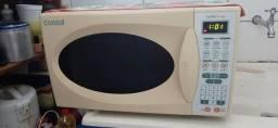 Microondas com defeito