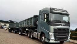 Volvo fh 540 2020 rodo caçamba 2019 pastre