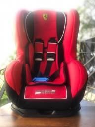 Cadeira P/ Auto Ferrari Cosmo Black - Teamtex (0 À 25 Kg)