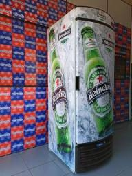 Cervejeira metal frio atinge até 4.5 negativos