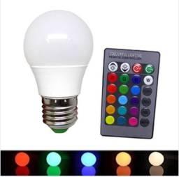 Lâmpada inteligente colorida *
