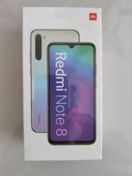 Maravilhoso// Redmi note 8 64 da Xiaomi // Lacrado // Garantia e entrega