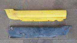 Par Acabamento de metal Forro lateral traseiro Dodge Charger Dart