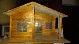 Casinha de madeira/Maquete