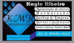 Kmr informática - Reparo notebook / Pcs