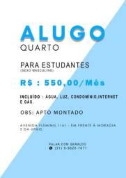 Alugo quarto - Bairro Ouro Preto/BH