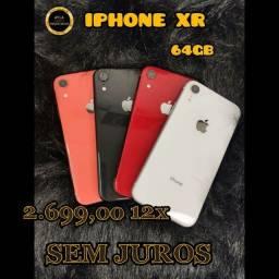 IPHONE XR 64GB (12X SEM JUROS )