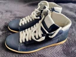Tênis Armani jeans - tênis Diesel