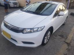 Honda Civic LXS 1.8 2013 Completo C/GNV