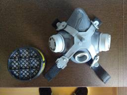 Mascara Facial Respirador C/ Filtro Gases
