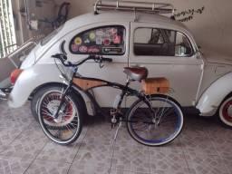 Título do anúncio: Bike elétrica retrô
