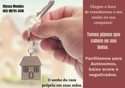 Crédito para casa, apartamento e terreno.