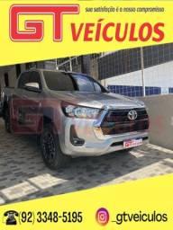 Título do anúncio: HILUX 2021/2021 2.8 D-4D TURBO DIESEL CD SRV 4X4 AUTOMÁTICO