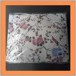Jogo de lençol casal queen 3 peças  100% algodão  180 fios