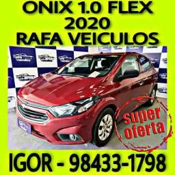 Título do anúncio: ONIX JOY 1.0 FLEX 2020 NA RAFA VEICULOS km%@