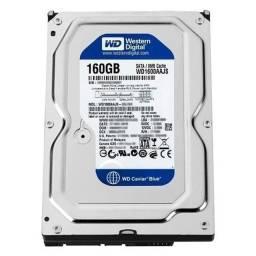 HD Sata Western Digital (WD) 160GB - Refurbished.