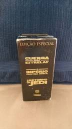 COLEÇÃO GUERRA NAS ESTRELAS VHS