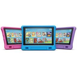 "Tablet Fire HD 8 Kids Edition, 8"" HD display, 32 GB, 8th (Case Azul e Rosa)"
