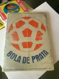 Álbum de figurinhas Bola de Prata 1971 completo