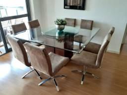 VENDO Mesa jantar 8 cadeiras
