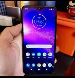 Vendo ou troco Motorola one macro sem detalhes