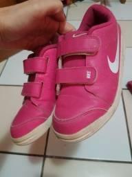 Tênis infantil rosa