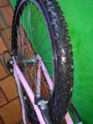 Bicicleta feminina 18 marchas