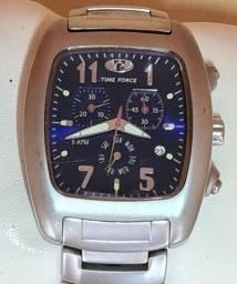 Time Force Suíço 100% original fundo azul