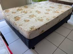 cama box casal - espuma  firme -entrego