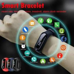 Pulseira Esportiva Digital Inteligente M3 Bluetooth Mande Dados Pelo Celular