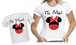 Título do anúncio: Camisetas Personalizadas Tal mae Tal filha Veja descricao
