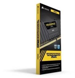Memória RAM Vengeance LPX color Black  16GB 2x8GB Corsair 3200Mhz
