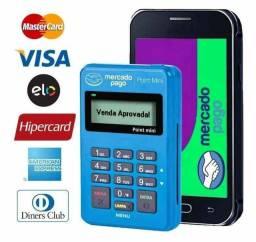 Maquinas de Cartão Sen Mensalidade Mercado Pago Envio imediato
