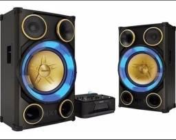 Título do anúncio: System Philips Nitro Nx9 2900w, Bluetooth Usb Cd Sub