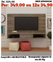 Painel de televisão de 55 Plg- Painel de TV- Sala de Estar-Promoção MS