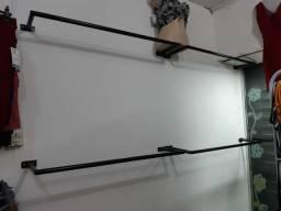 Arara de roupas 45,00 unidade