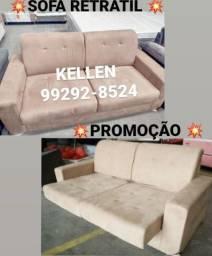 Título do anúncio: Sofa sofa retrátil. Mega Promoção. Frete grátis !!