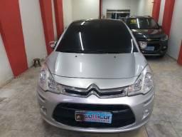 Título do anúncio: Citroen C3 Top Autom. + Teto + Gnv troco e financio aceito carro ou moto maiopr mou menor