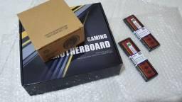 Kit Intel Core i3 3240 + placa-mãe Intel H61 + 4Gb DDR3 + cooler