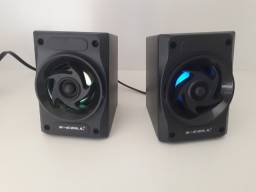 Caixa de som multimidia xcell para PC 6W em Maracanaú