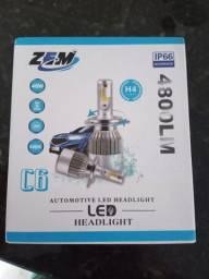 Lâmpadas de led h 4 novas 3 unidades