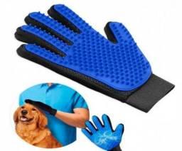 Luva Escova Magnética Pelos Cães e Gatos Promoção