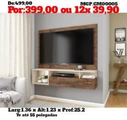 Painel de televisão até 55 Plg- Painel de TV Grande- Painel MS Barato