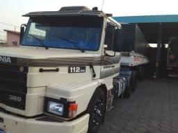 Título do anúncio: Vende-se Scania e Carreta