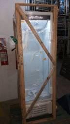 Freezer expositor vertical tubulação de cobre. 400 litros  10x sem juros cartão