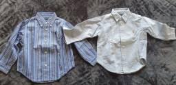 4 camisas - 18 meses -Tommy H e RLauren
